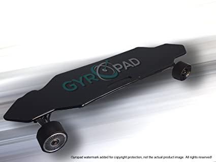 Remote Control Skateboard >> Amazon Com Gyropad Electric Remote Control Skateboard Sports