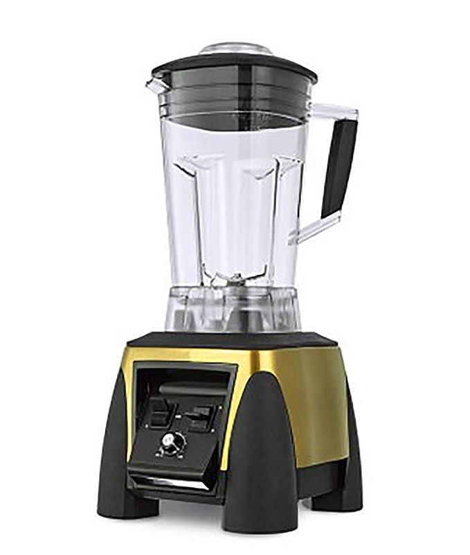 ZYFWBDZ Juicers Juicer 2200v / 110v 3hp Bpa Free 2l 220w Professional Smoothie Power Mixer Food High Strength Mixer Juicer Food Processor,Metallic