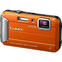 Panasonic DMC-TS25D Waterproof Digital Camera with 2.7-Inch LCD (Orange) Basic Facts Review Image