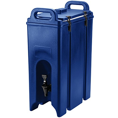 Cambro 500LCD186 Navy Blue 4.75 Gallon Camtainer Insulated Beverage ()
