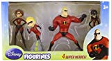 Beverly Hills Teddy Bear Company Incredibles Figure, 4-Pack