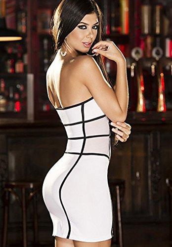 es4234 Espiral Lingerie Kleid