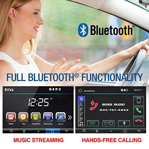 51jAQPrONOL - BOSS Audio BV9358B Double Din, Touchscreen, Bluetooth, DVD/CD/MP3/USB/SD AM/FM Car Stereo, 6.2 Inch Digital LCD Monitor, Wireless Remote