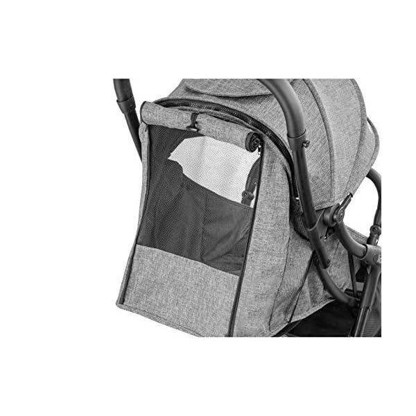 Lionelo Julie One passeggino leggero pieghevole compatto con zanzariera portabibite borsa per trasporto da 0 mesi fino… 5