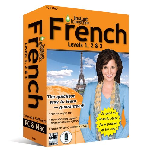 Price comparison product image (2011 Version) Instant Immersion French Levels 1, 2 & 3
