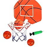 Tuko Kids Basketball Hoop Arcade Game Toy - Toddler Toys Outdoor/Indoor Basketball Hoop Shooting Training System with Basketball for Boy Gift (Basketball Hoop)