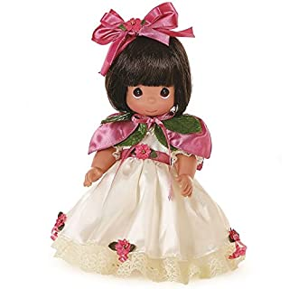 The Doll Maker Precious Moments Dolls, Linda Rick, The Belle at The Christmas Ball, Brunette, 16 inch Doll