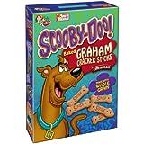 Keebler, Scooby-doo!, Baked Graham Cracker Sticks, Honey (Pack of 36)