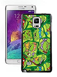 Samsung Galaxy Note 4 ninja turtles Black Screen Phone Case Personalized and Popular Design