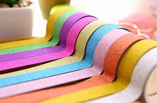 KaLaiXing® Decorative Washi Rainbow Sticky Paper Masking Ad