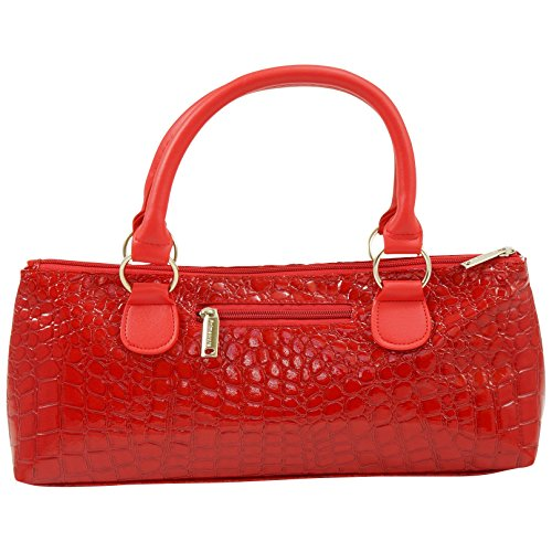 Primeware Wine Clutch Bag (Thermal Insulated) Trendy Women's Carry Tote | Holds Red & White 750mL Bottles | Trendy Fashion | Incl. Portable Waiter-Style Corkscrew