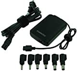 Duracell DRAC90S Slim Universal Laptop Adapter, 19V, 90-Watt