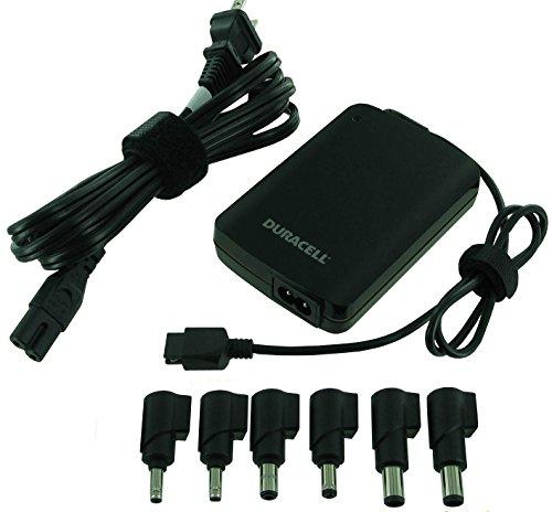 Duracell Laptop Adapter - Duracell DRAC90S Slim Universal Laptop Adapter, 19V, 90-Watt