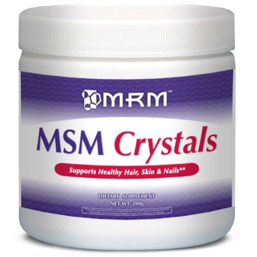 MRM, MSM Crystals, Net Wt. 200g
