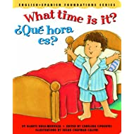 What time is it? / ¿Qué hora es? (English and Spanish Foundations