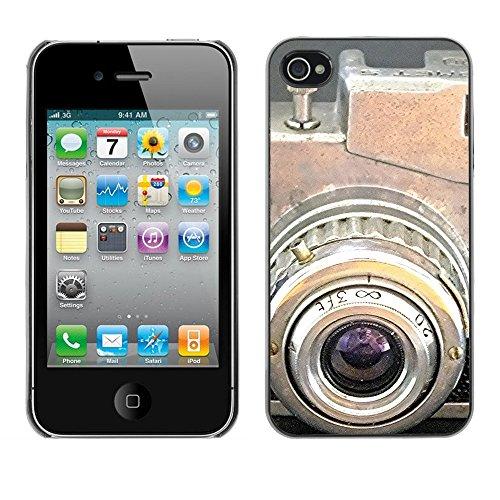 Premio Sottile Slim Cassa Custodia Case Cover Shell // F00024296 caméra Antique // Apple iPhone 4 4S 4G