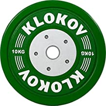 Klokov Olympic Weightlifting Bumper Plates