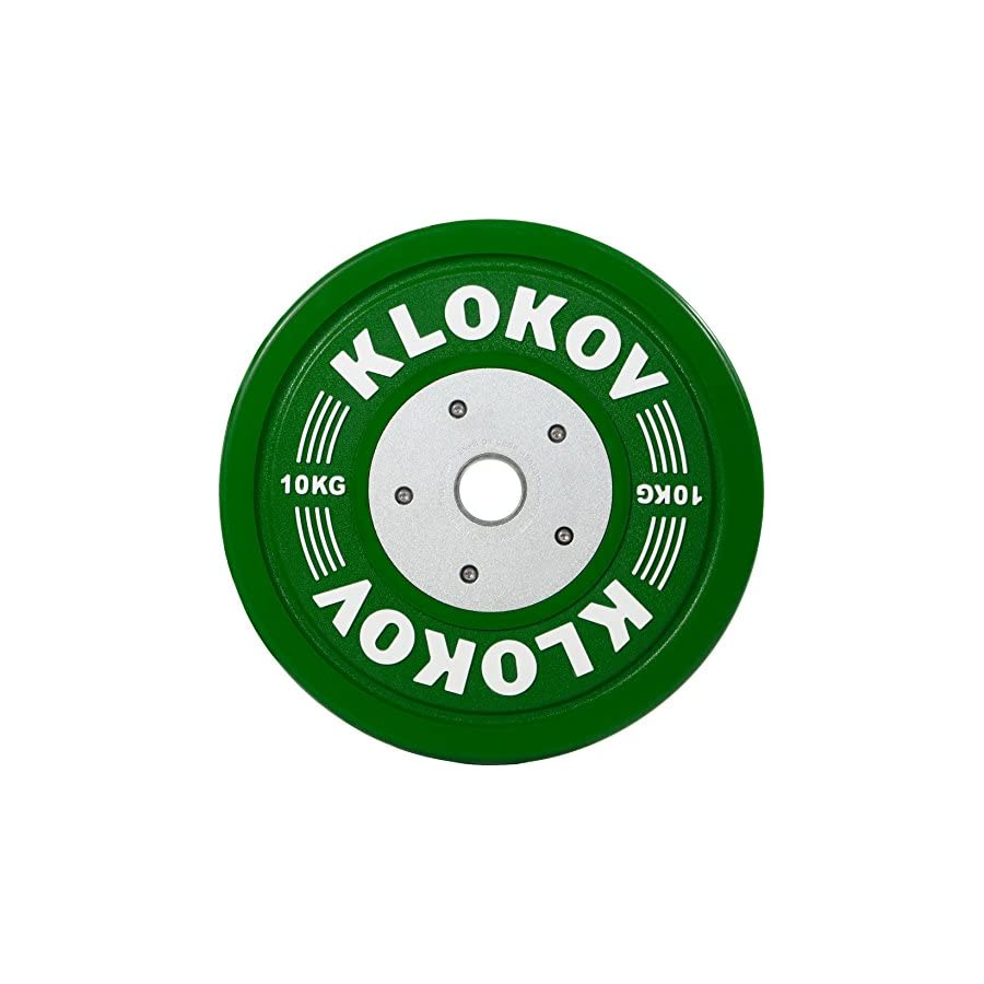Klokov Olympic Weightlifting Bumper Plates