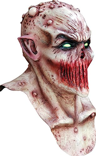Ghoulish Adult Deadly Silence Horror Movie Theme Party Halloween Costume Mask -