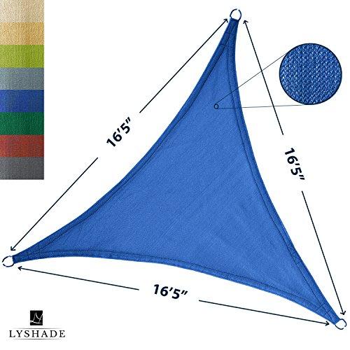 LyShade Triangle Shade Sail Canopy