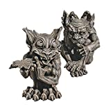 Design Toscano Babble and Whisper Gargoyle Statue (Set of 2)