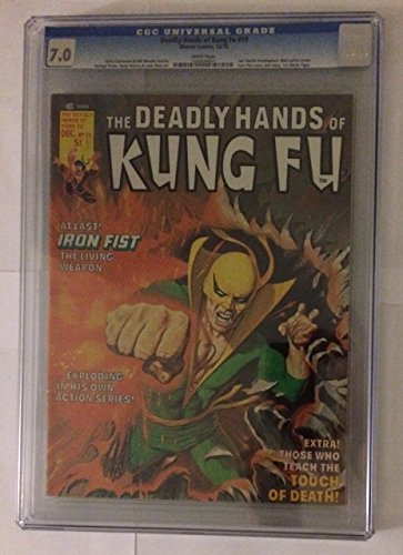 19 Printing (Deadly Hands of Kung Fu #19 First Printing Comic Book. CGC)