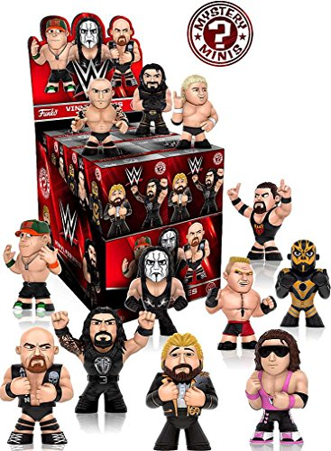 WWE Mystery Minis Series 2 Mini-Figures Set of 12 (Figure Dibiase Ted Wwe)