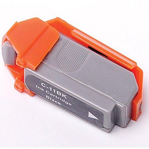 Bulk BCI-11Bk Canon Compatible Inkjet Cartridge, Black Ink: CBCI11BK (18 Inkjet Cartridges)