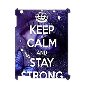 stay strong iPad2,3,4 Case Cover, Personalized iPad2,3,4 Case 3D