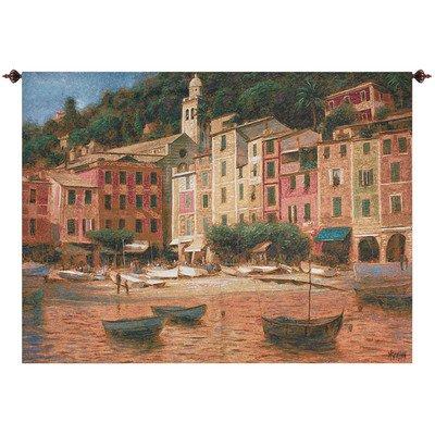Wall Tapestry Portofino (Portofino Scene Tapestry)