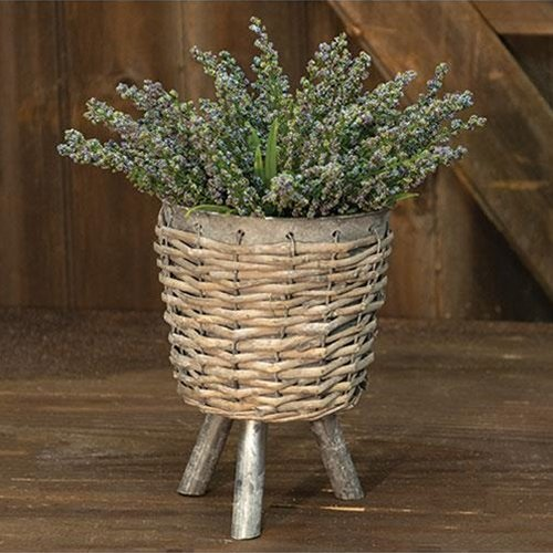 Heart of America Willow Basket Plant Stand - Large