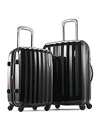 Samsonite Prism Hardside (20 Inch/24 Inch) Luggage Set, Black