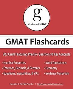 Manhattan GMAT Flashcards (Manhattan Prep GMAT Strategy Guides)