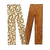 aheli Alphabet Wooden Letter Party Wedding Decoration Wall Decor Light - Letter M