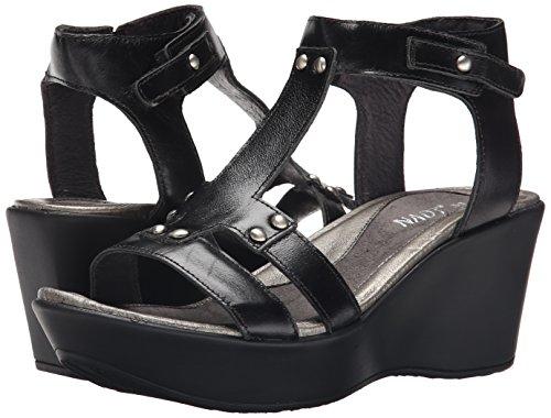 Naot Leather Sandals Flirt Womens Black UwrBfU4q