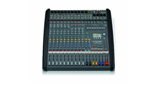 Mesa de mezclas Dynacord Powermate 1000 – 3: Amazon.es ...