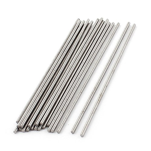 Drill Rod - uxcell 2mm Dia 100mm Length High Speed Steel Round Drill Lathe Rod Bar 20 Pcs