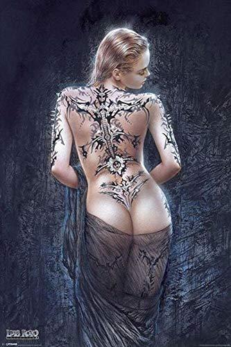 - Yilooom Luis Royo Le Flor de Dolor Poster 24x36 inch