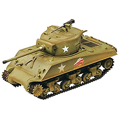 Easy Model M4A3 76 W 37th Battalion 4th Armored Division Middle Tank: Toys & Games