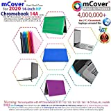 """mCover Hard Shell Case for 2020 14"""" HP Chromebook"""
