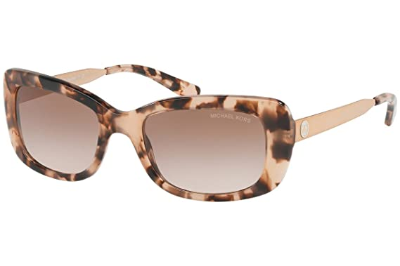 24c1bca873 Michael Kors MK2061 316213 Pink Tortoise Rectangle Sunglasses for ...