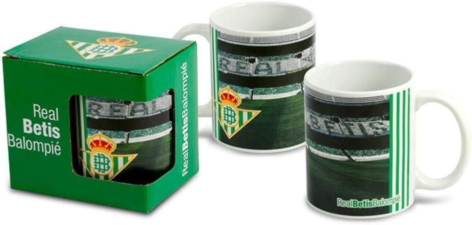 Taza de cerámica del Real Betis Balompie C.F.