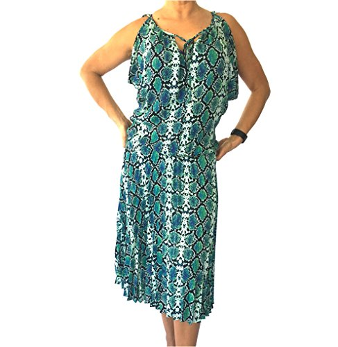 Issa Printed Jersey Dress - 1