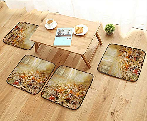 Jiahonghome Universal Chair Cushions Dry Oak Leaves for sale  Delivered anywhere in USA
