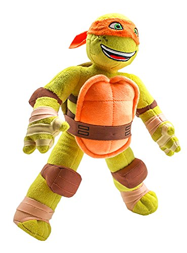 Nickelodeon Universe Teenage Mutant Ninja Turtle Michelangelo Plush]()