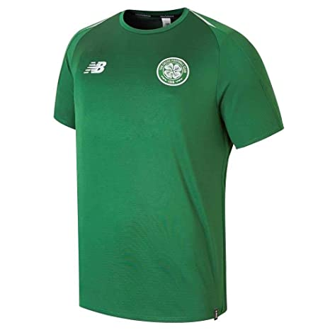 Amazon.com   New Balance 2018-2019 Celtic Training Jersey (Green ... 1b3b3fc05