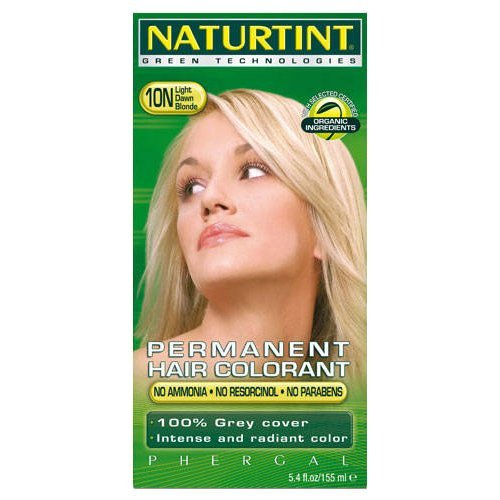 (2 Pack) - Naturtint - Hair Dye - 10N Light Dawn Blonde | 135ml | 2 PACK BUNDLE