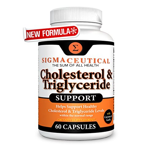Cholesterol Lowering Supplement - Lower Triglycerides - Natural Sterol Complex - 60 Capsules