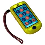 B.HIPHONE - So Much Like a Real Cell Phone ( Touchscreen, Record and Play Back, True-to-Life Sounds, Four Songs to Play) - LIME