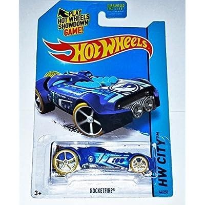 2015 Hot Wheels Treasure Hunt HW City - RocketFire 44/250 by Mattel